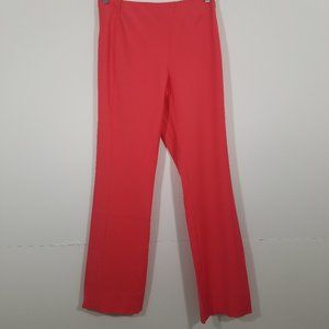 Gianni Versace Coral Stretch Dress Pant Size 42